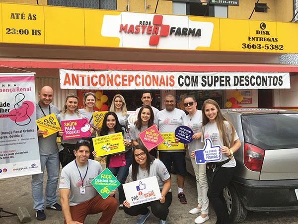 Dia Mundial do Rim: Pró-Renal e Masterfarma juntos nesta causa!